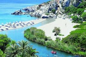 Preveli! A real exotic beach in Crete!